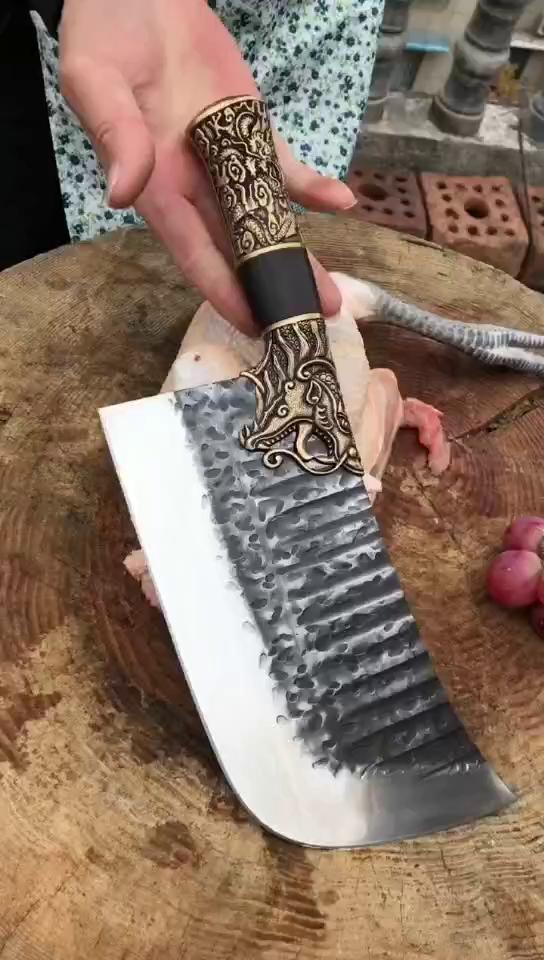 Dragon slaughtering(Spareribs knife)